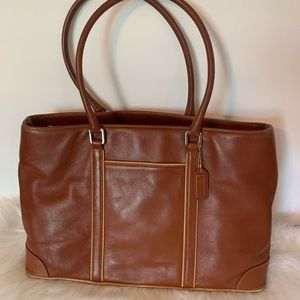 Coach Vintage Hampton Leather Tote